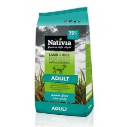 Nativia Dog Adult Lamb&Rice...