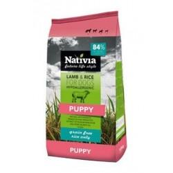 Nativia Dog Puppy Lamb&Rice...
