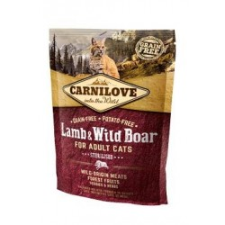 Carnilove Cat Lamb & Wild...